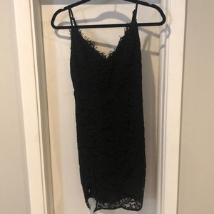 Black Tank Lace Dress Boutique